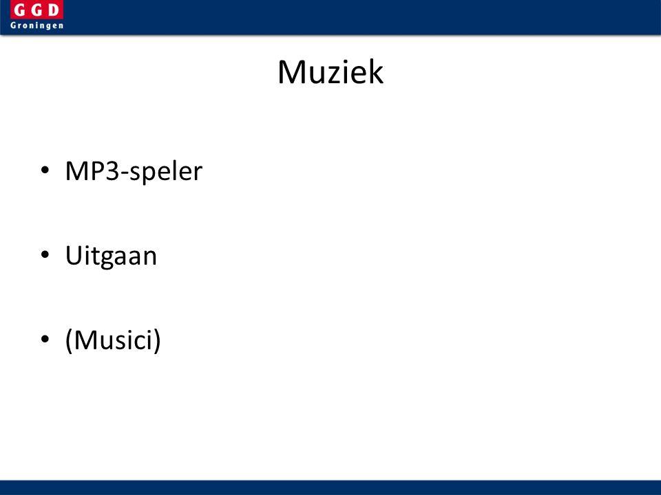 Muziek MP3-speler Uitgaan (Musici)