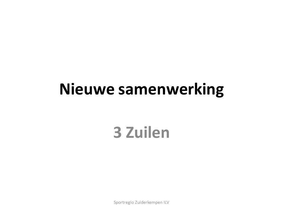 Nieuwe samenwerking 3 Zuilen Sportregio Zuiderkempen ILV