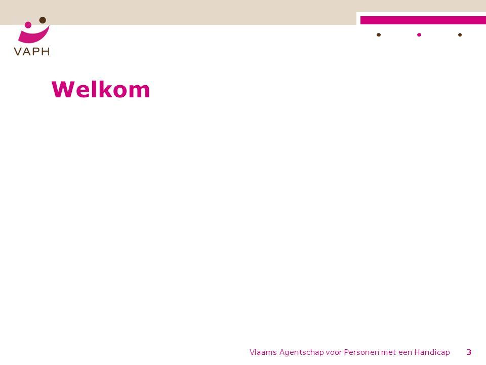 Welkom Vlaams Agentschap voor Personen met een Handicap3