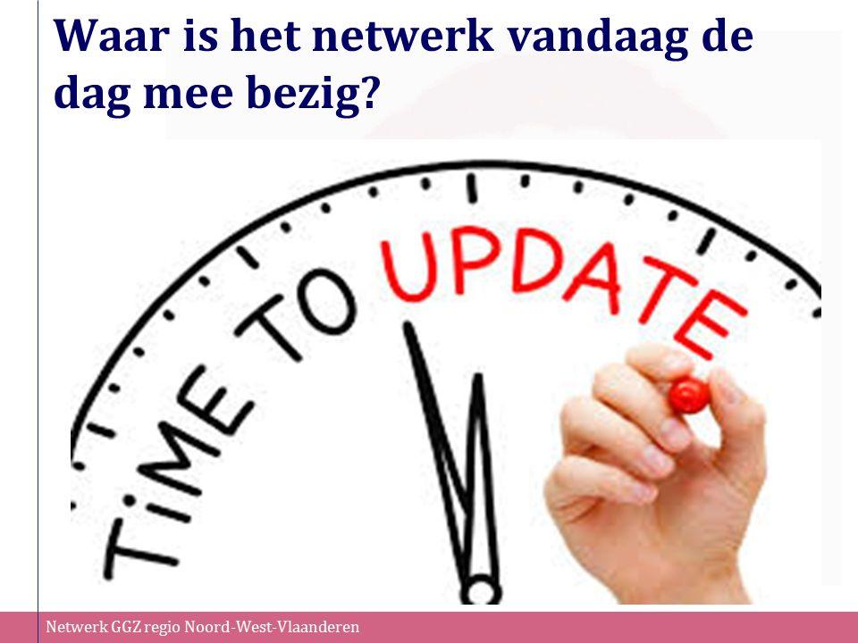 Waar is het netwerk vandaag de dag mee bezig?