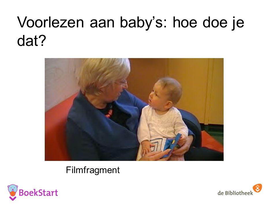 Voorlezen aan baby's: hoe doe je dat Filmfragment