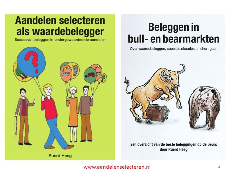 ETF VXX versus index VIX 25 www.aandelenselecteren.nl