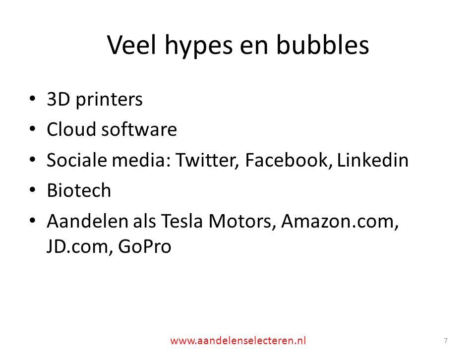 Spin-offs (1): Knowles 18 www.aandelenselecteren.nl