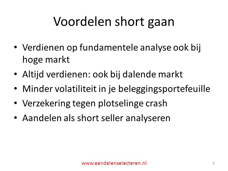 Spin-offs (2): HART 19 www.aandelenselecteren.nl