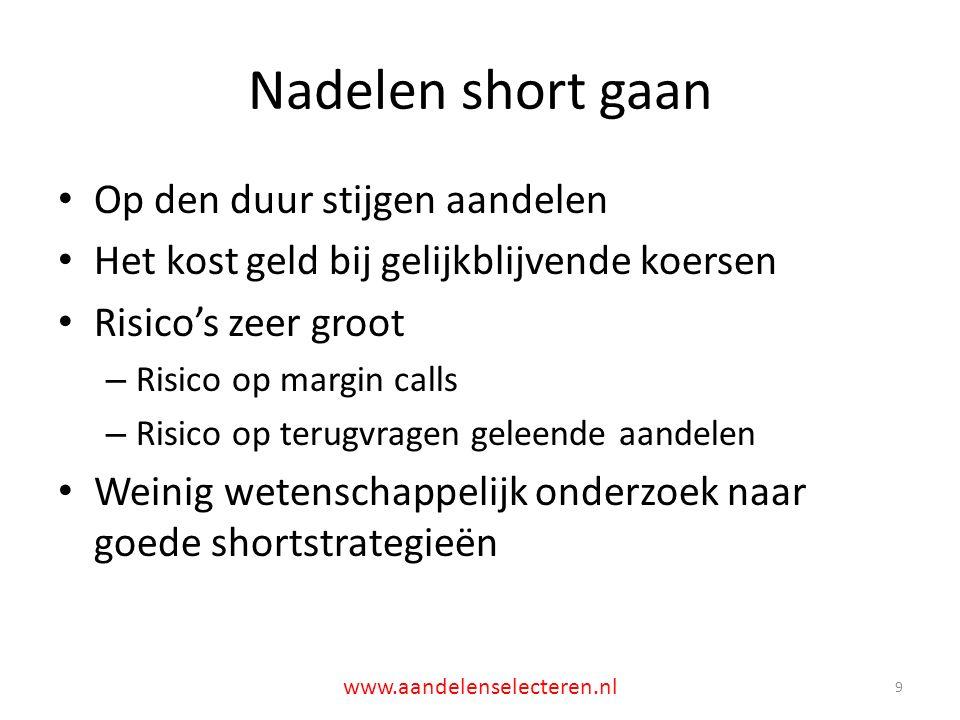Overname betaald in aandelen: FNB United 20 www.aandelenselecteren.nl