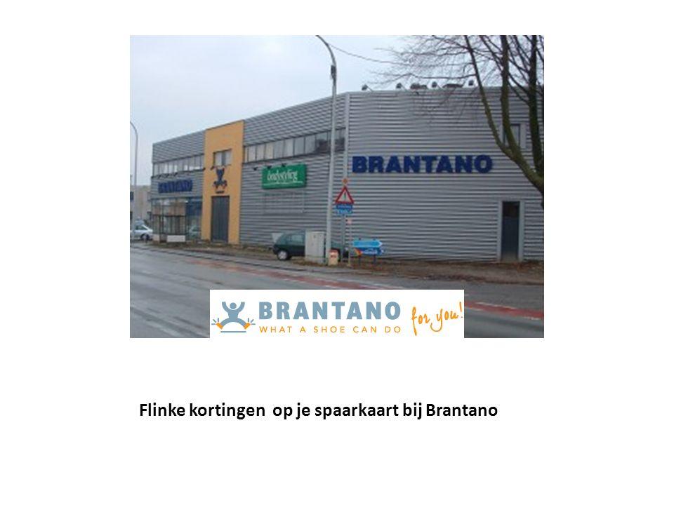 Flinke kortingen op je spaarkaart bij Brantano