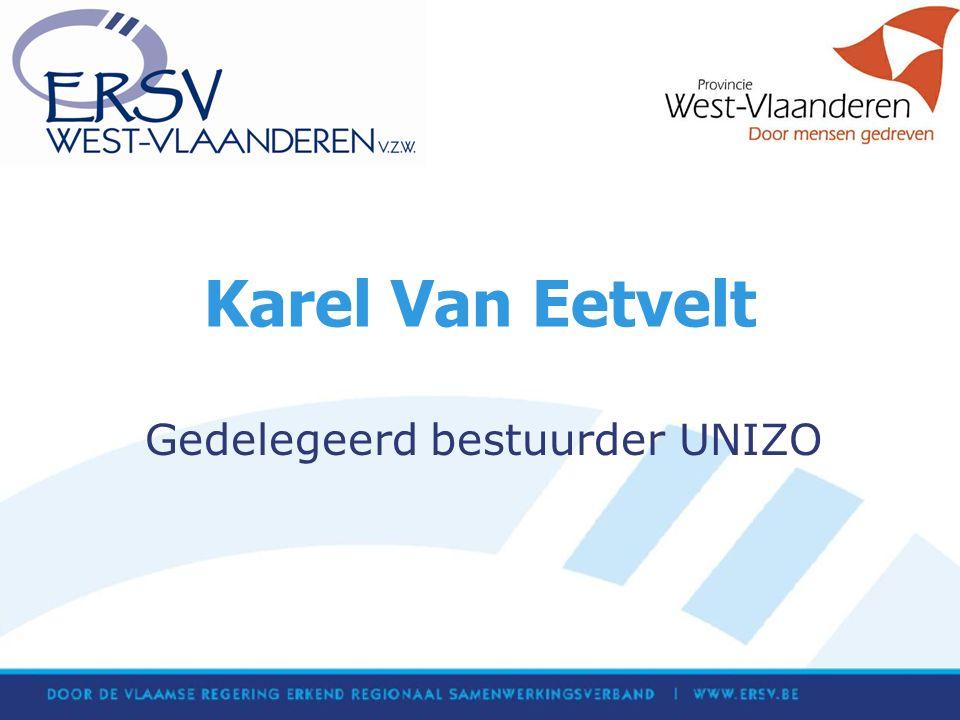 Karel Van Eetvelt Gedelegeerd bestuurder UNIZO