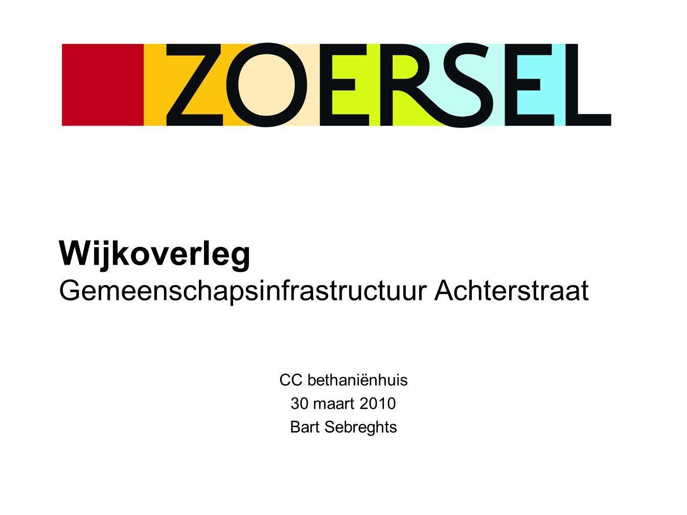 Dossier 2 – Privaat-publieke samenwerking  Sportinfrastructuur  PPS vanuit de Vlaamse gemeenschap (sportinfrastructuurfonds)  Private vennootschap ontwerpt, bouwt & financiert  Gemeente Zoersel betaalt 'beschikbaarheidsvergoeding' (gedurende 30 jaar)  Vlaanderen betaalt hiervan max.