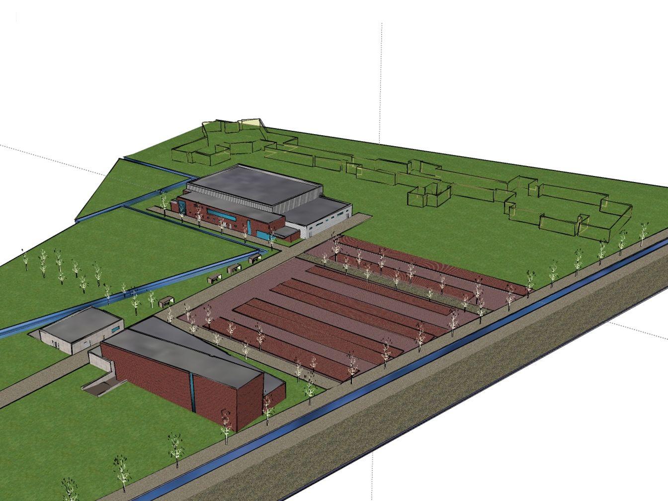 3 dossiers Sportinfrastructuur Jeugdhuis Repetitieruimte Ruime parking Kinderopvang Academie Strijkatelier Multifunctionele zaal