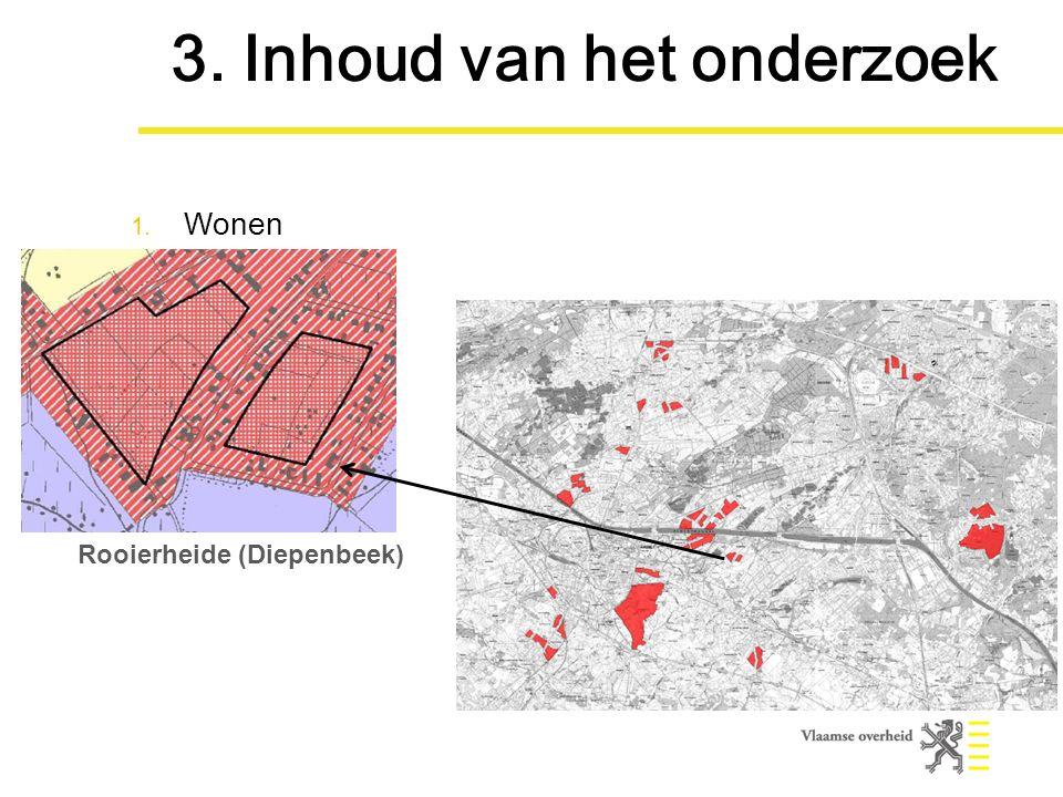 Rooierheide (Diepenbeek) 3. Inhoud van het onderzoek