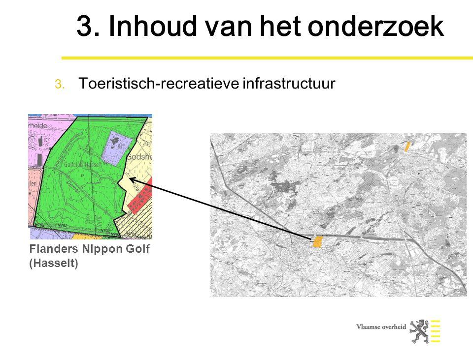Flanders Nippon Golf (Hasselt) 3. Inhoud van het onderzoek 3.