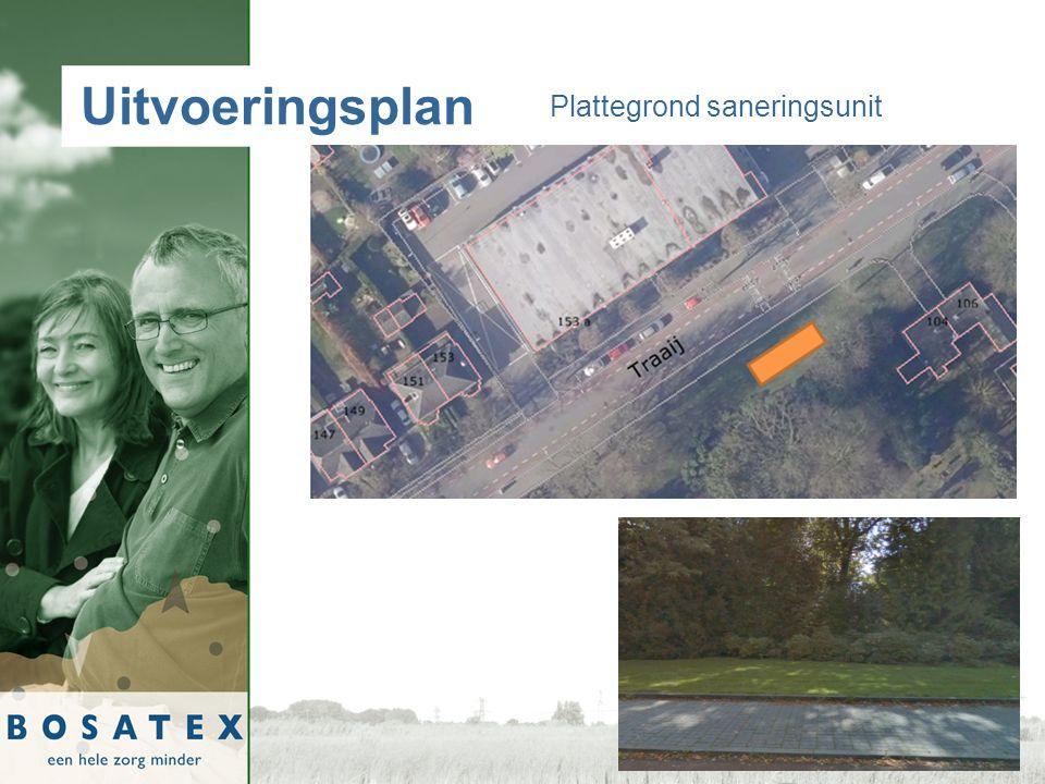 Uitvoeringsplan Plattegrond saneringsunit