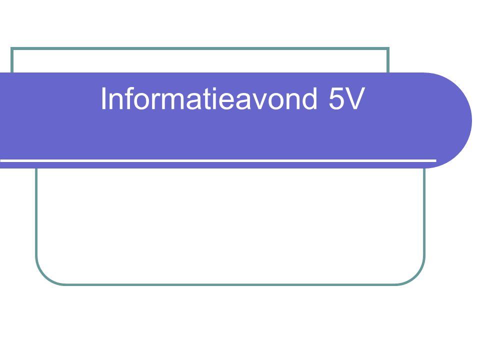 Informatieavond 5V