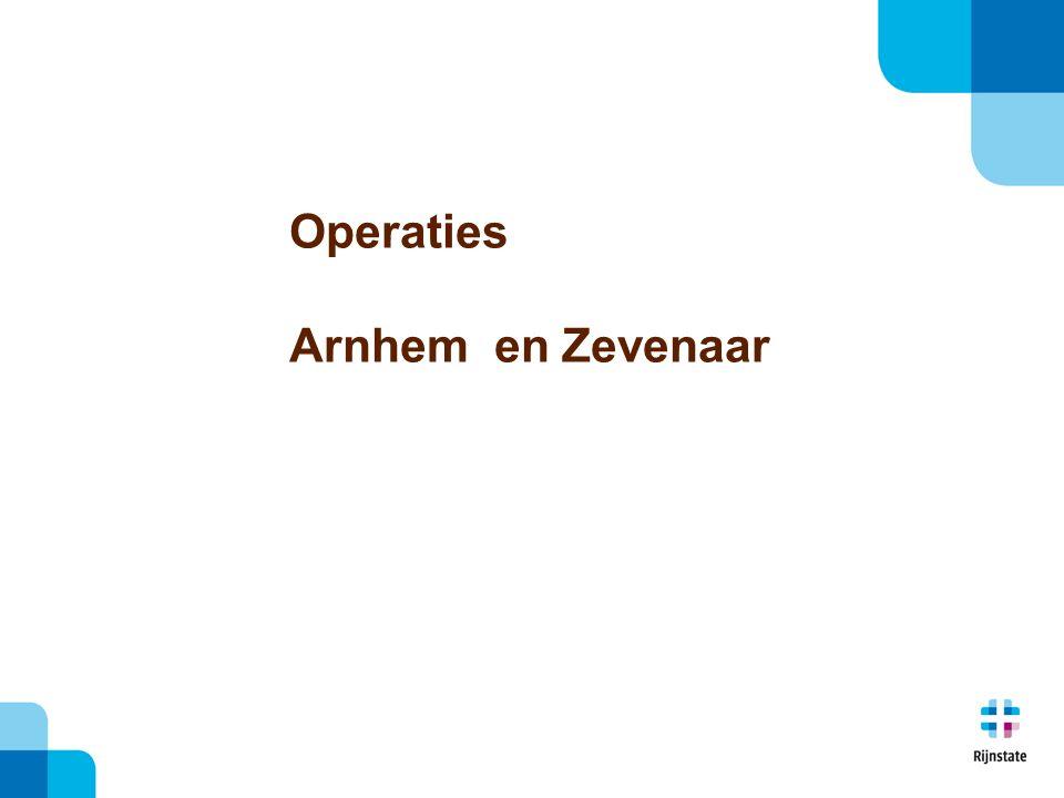 Operaties Arnhem en Zevenaar