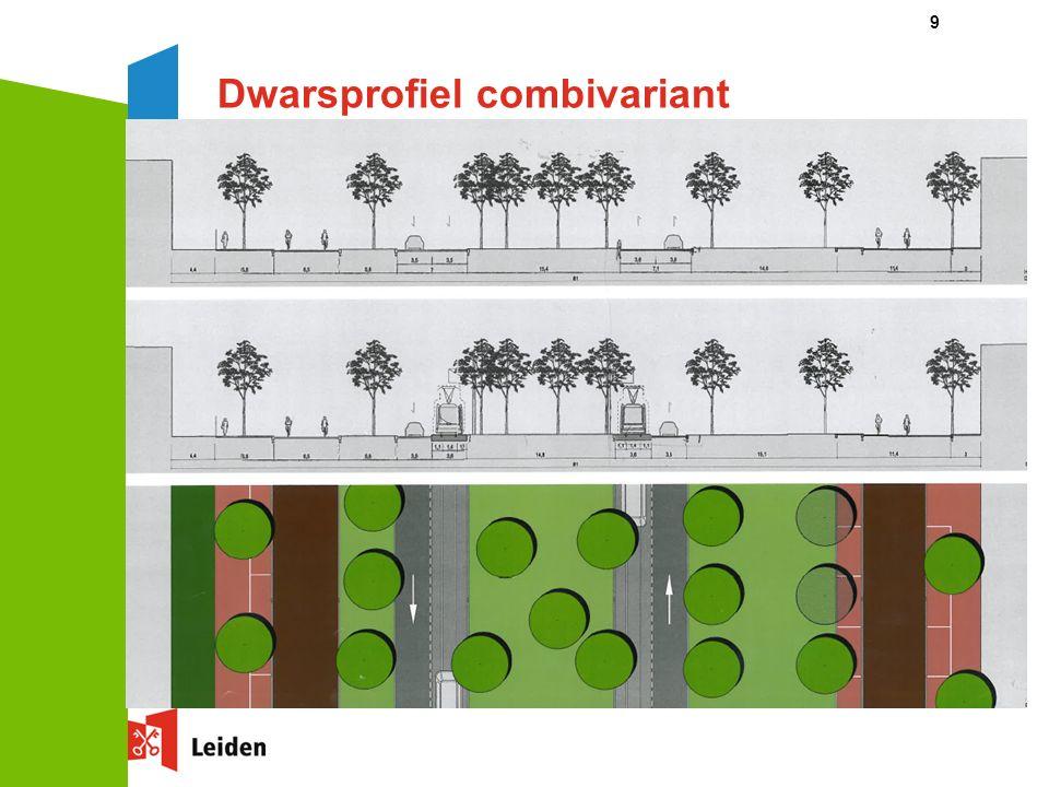 9 Dwarsprofiel combivariant