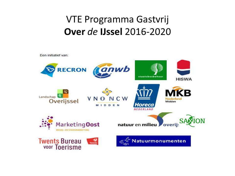 VTE Programma Gastvrij Over de IJssel 2016-2020