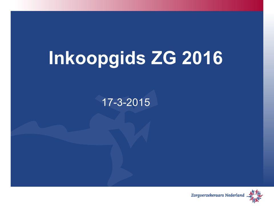 Algemene wijzigingen: De genoemde data zijn aangepast van 2015 naar 2016 In de gids wordt op een aantal plekken meer gerefereerd naar de door verzekeraars gewenste eindsituatie en minder aan de initiële overhevelingsproblematiek per 1-1-2015.