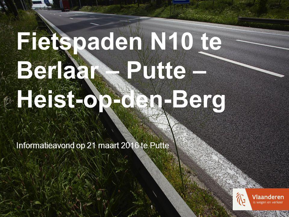 Fietspaden N10 te Berlaar – Putte – Heist-op-den-Berg Informatieavond op 21 maart 2016 te Putte 1
