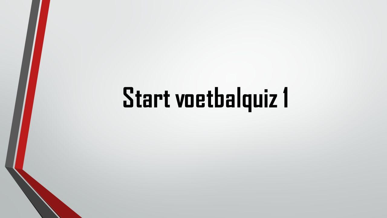 Start voetbalquiz 1