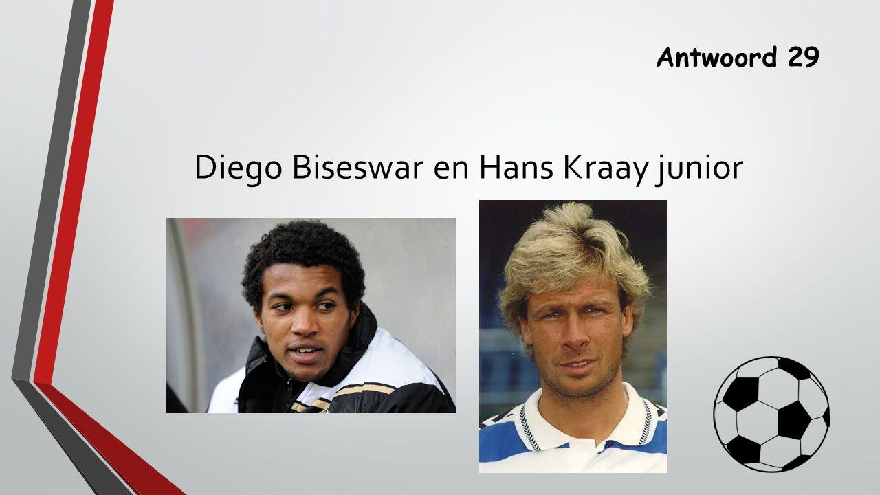 Antwoord 29 Diego Biseswar en Hans Kraay junior