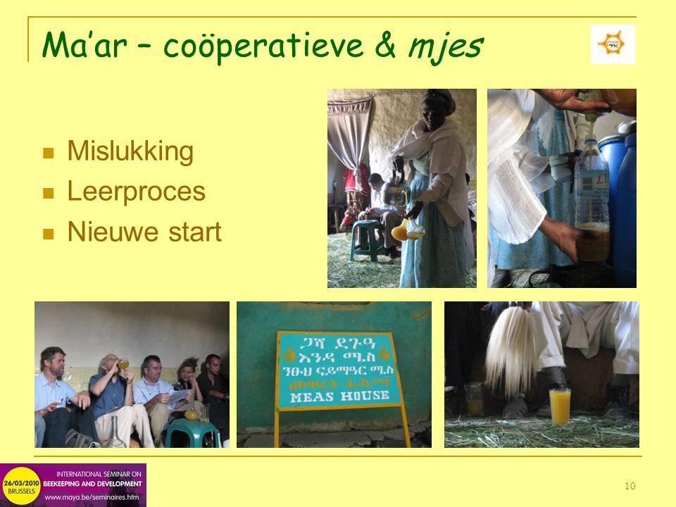 10 Ma'ar – coöperatieve & mjes Mislukking Leerproces Nieuwe start