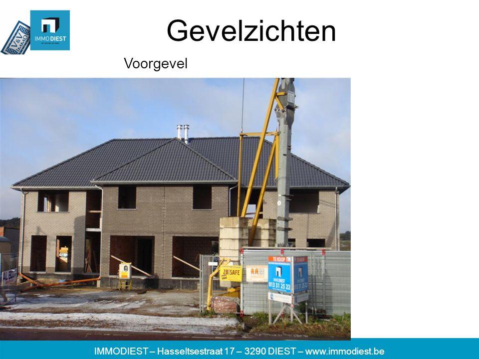 IMMODIEST – Hasseltsestraat 17 – 3290 DIEST – www.immodiest.be Gevelzichten Voorgevel