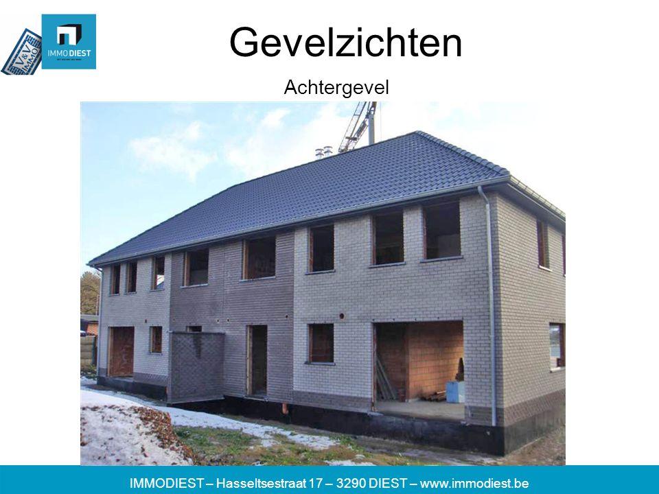 IMMODIEST – Hasseltsestraat 17 – 3290 DIEST – www.immodiest.be Gevelzichten Achtergevel
