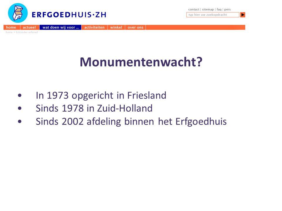 Monumentenwacht.