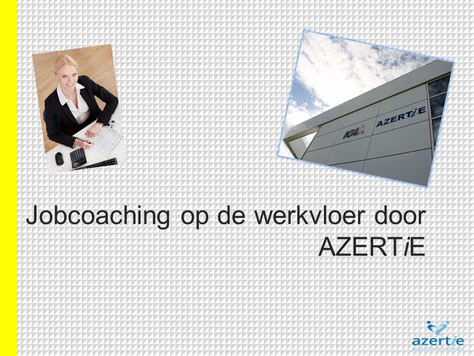 Jobcoaching op de werkvloer door AZERTiE