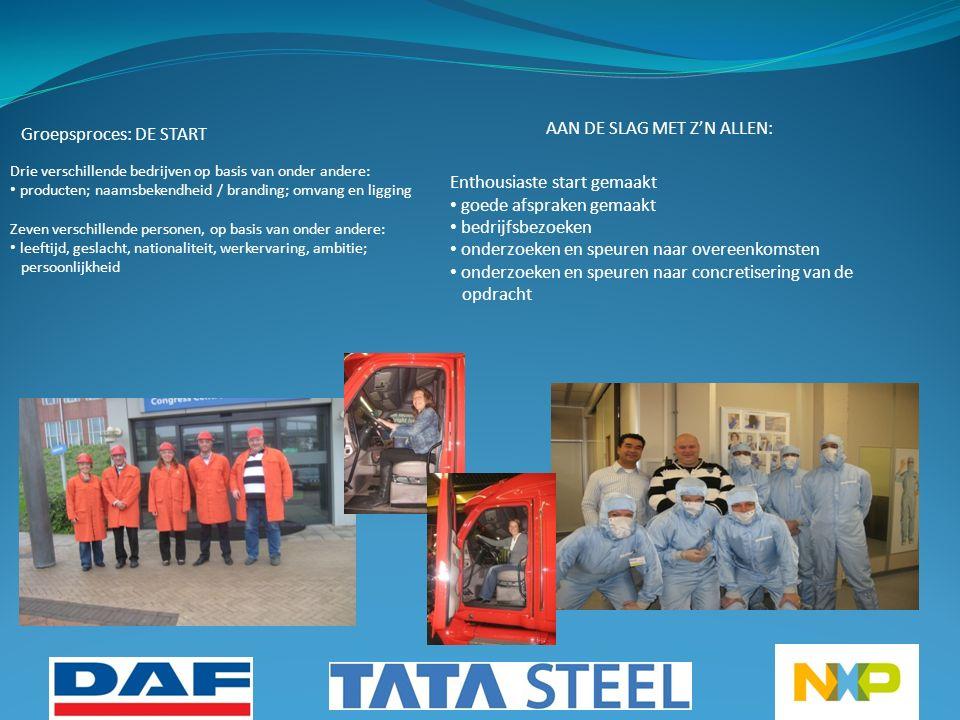 Leerproces  de drie bedrijven hebben verschillende bedrijfsculturen, dat hebben we zelf ervaren.