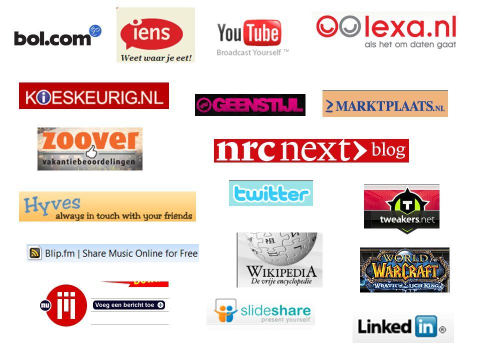 Sociale media = contact van mens tot mens