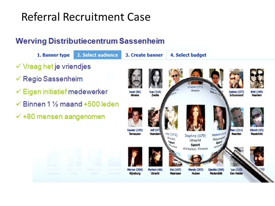 Referral Recruitment Case