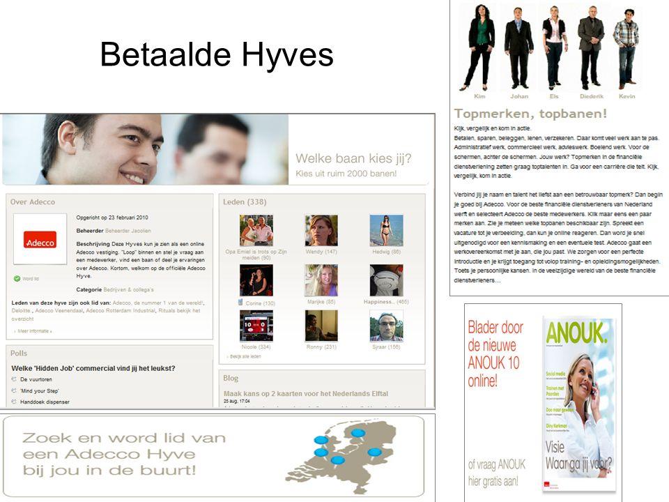 Betaalde Hyves
