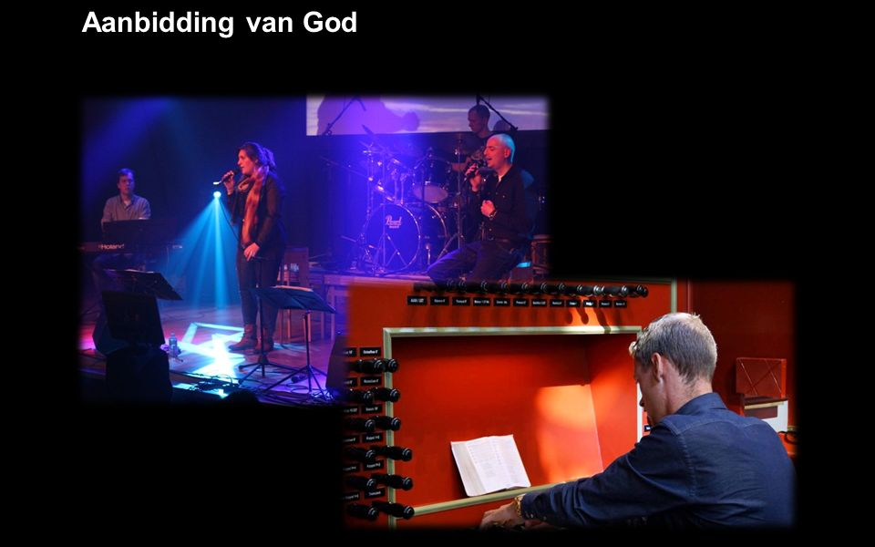 Aanbidding van God