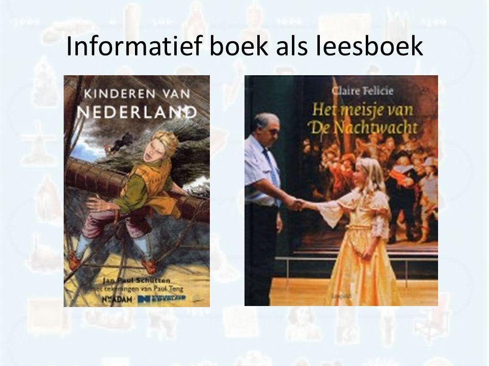 Informatief boek als leesboek