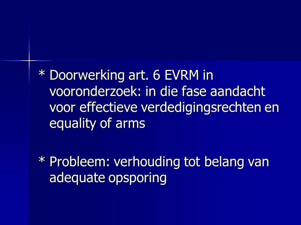 *Doorwerking art.