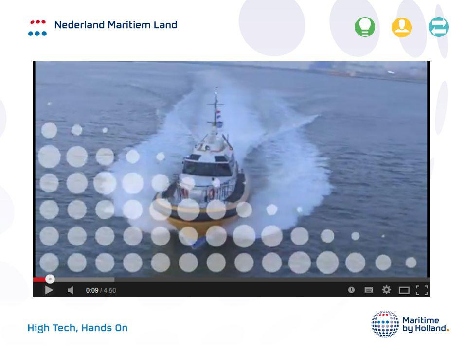 High Tech, Hands On De Nederlandse maritieme sector is al eeuwenlang een topsector.