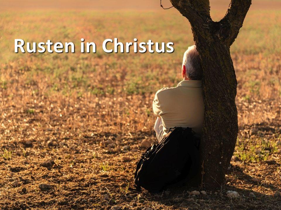 Rusten in Christus