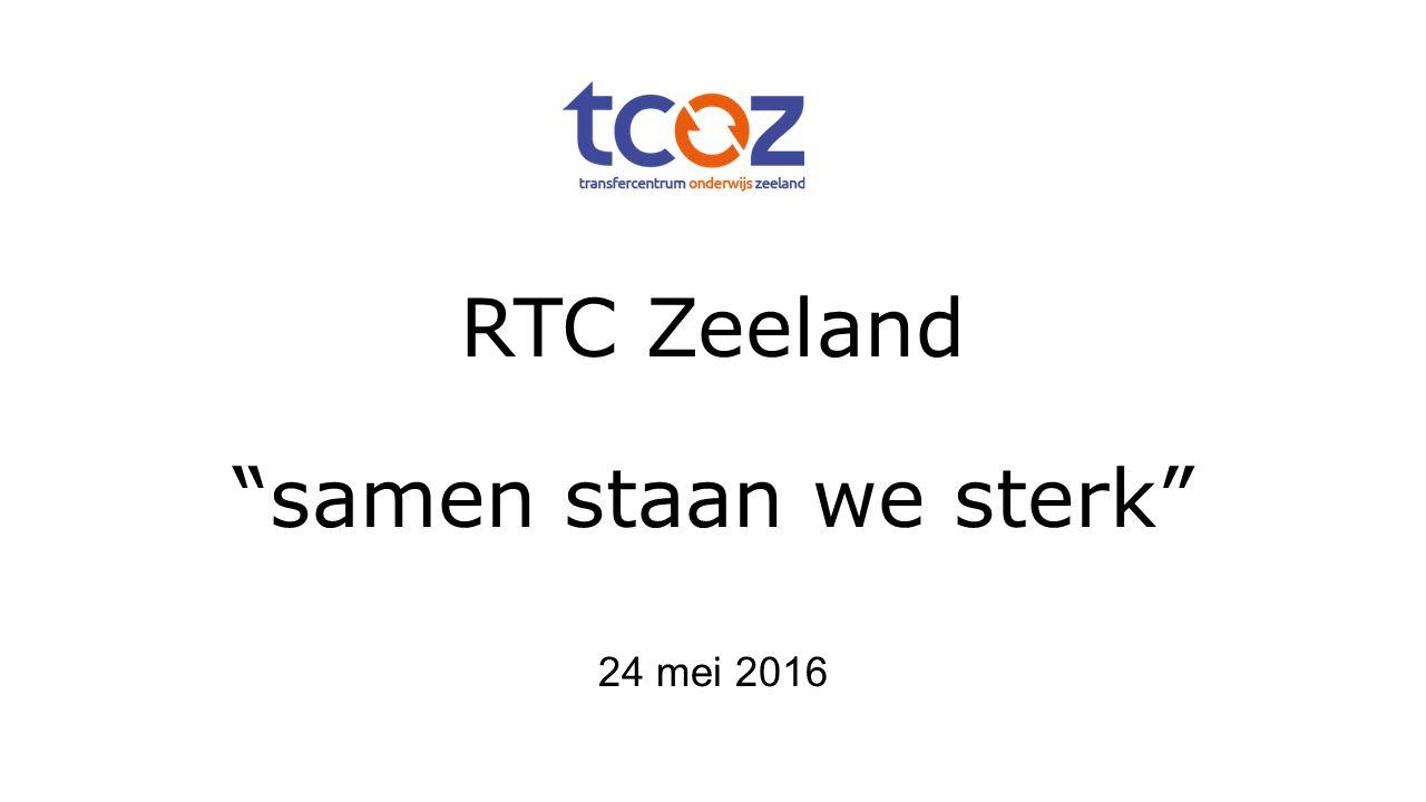 RTC Zeeland samen staan we sterk 24 mei 2016