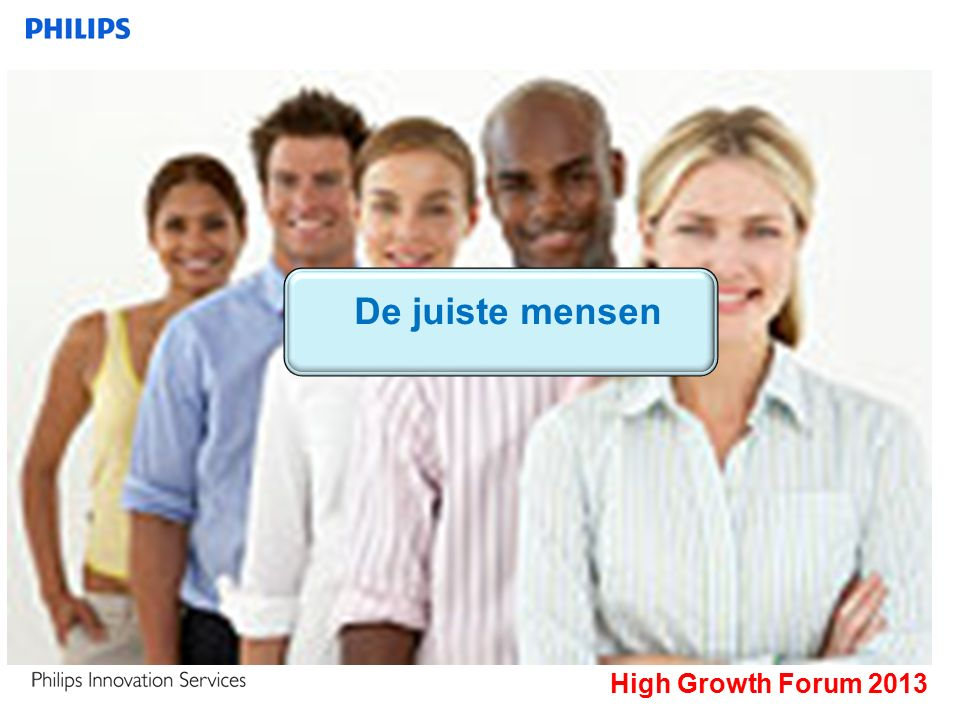 High Growth Forum 2013 De juiste mensen