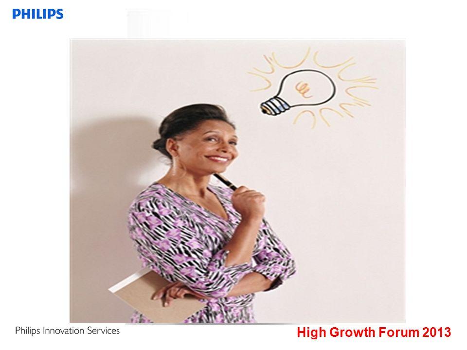 High Growth Forum 2013 Samenwerking belangrijk voor innovatie AMSTERDAM - Samenwerking met grote bedrijven, in binnen- of buitenland, is belangrijk voor productinnovatie.