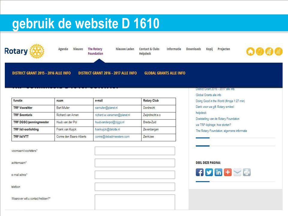 TITLE | 10 gebruik de website D 1610