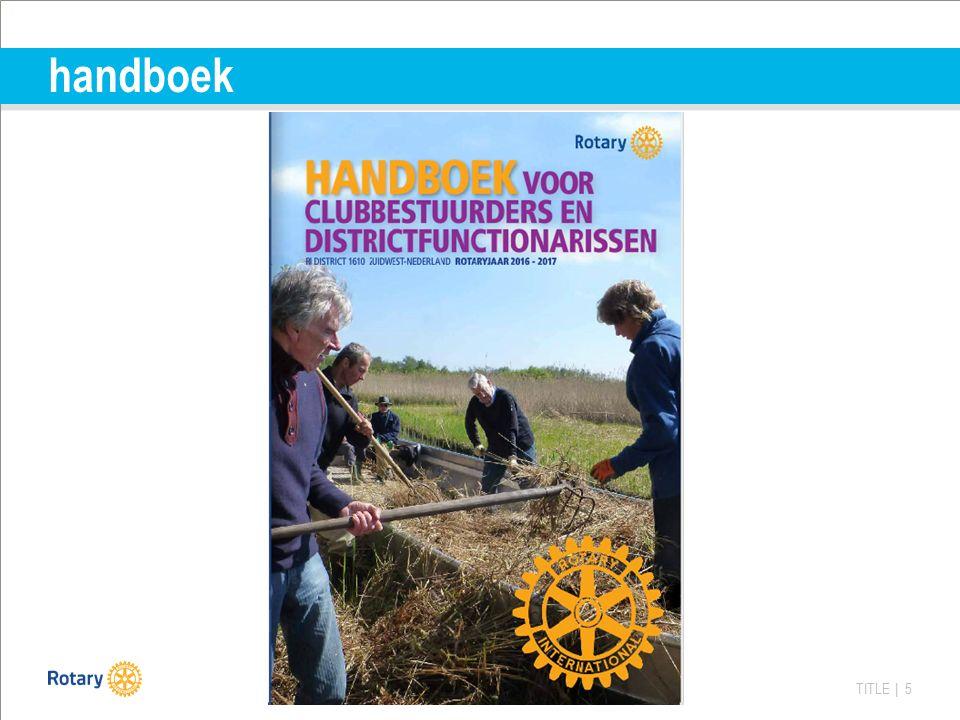 TITLE | 5 handboek