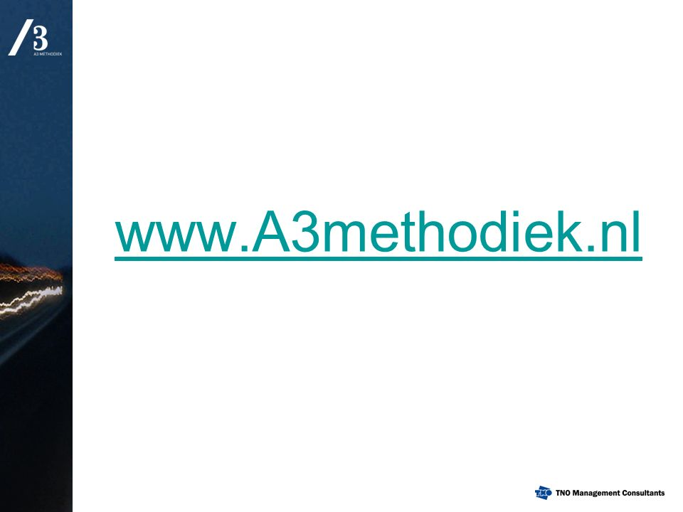 www.A3methodiek.nl