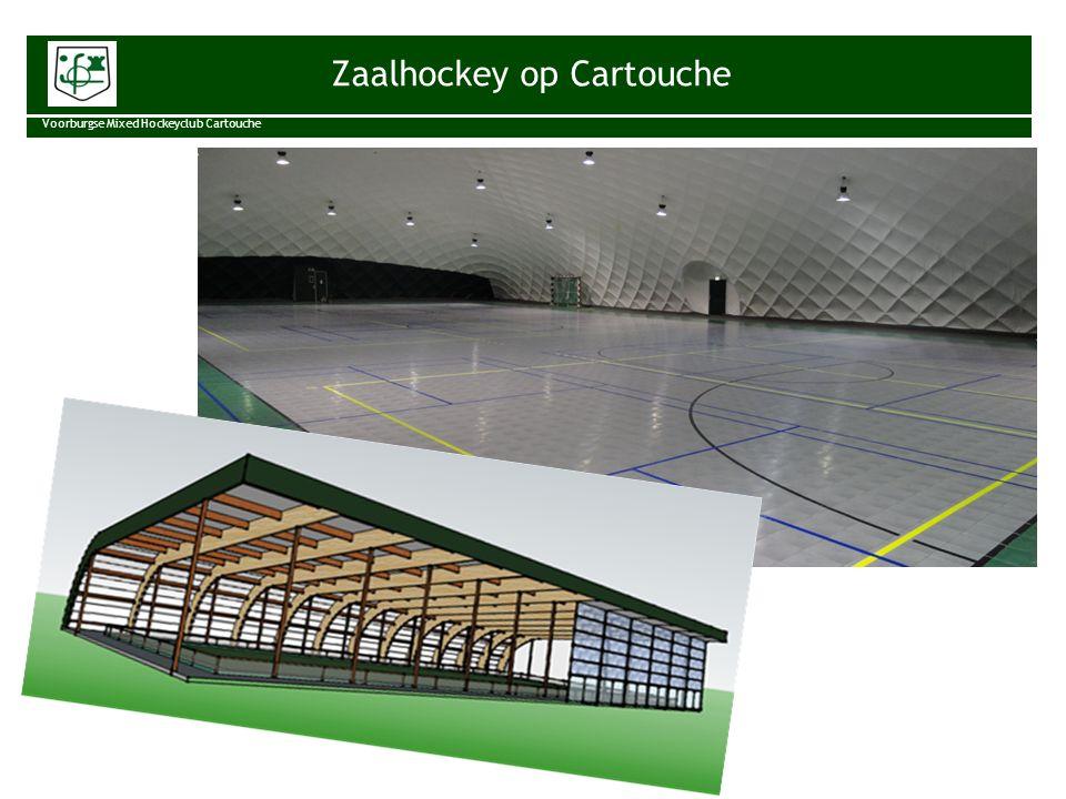 Aanleiding Voorburgse Mixed Hockeyclub Cartouche Zaalhockey is populair.