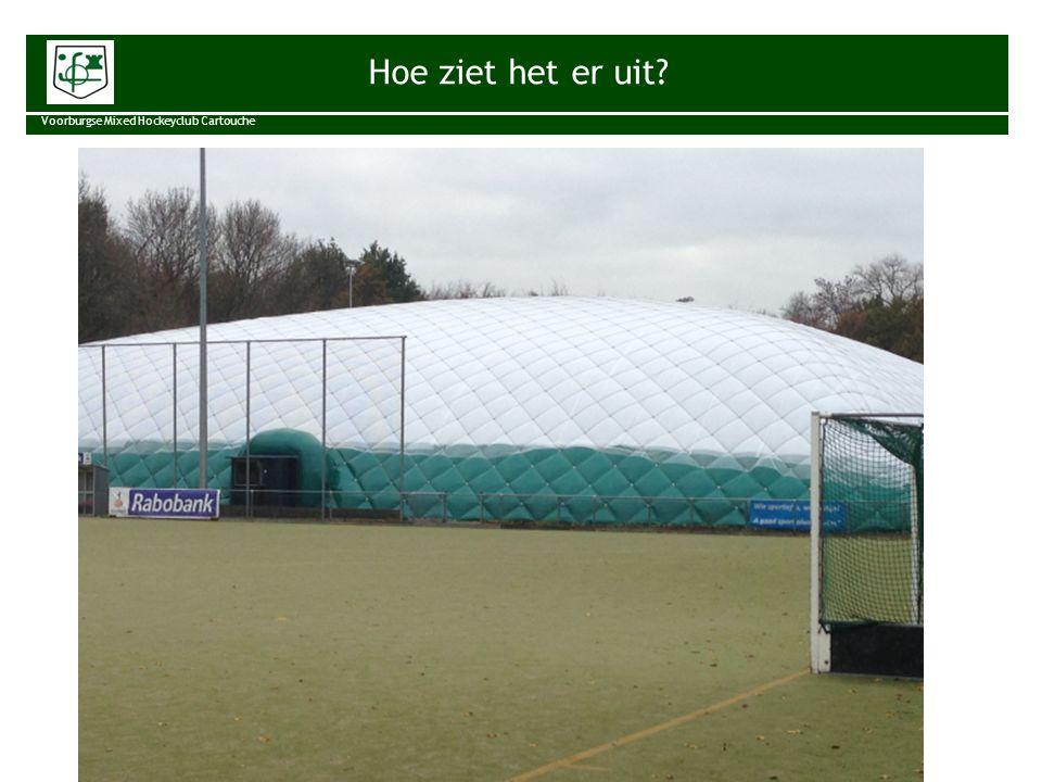 Risks and Rewards Voorburgse Mixed Hockeyclub Cartouche Zaalhockey voor iedereen, op en bij de familieclub die speelt om te winnen.
