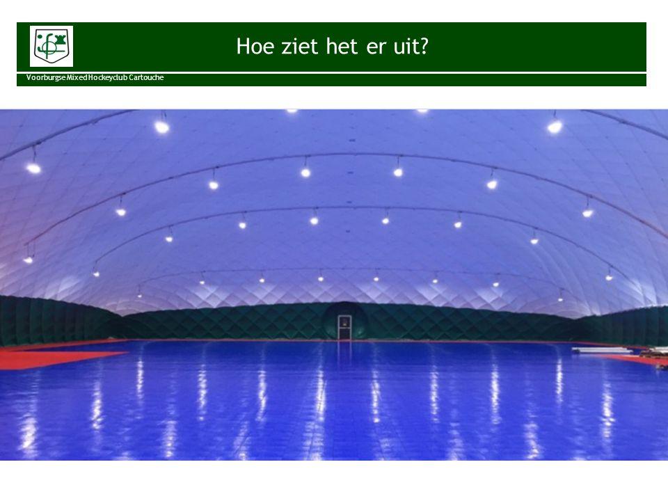 Status Voorburgse Mixed Hockeyclub Cartouche Gemeente zeer positief gereageerd.