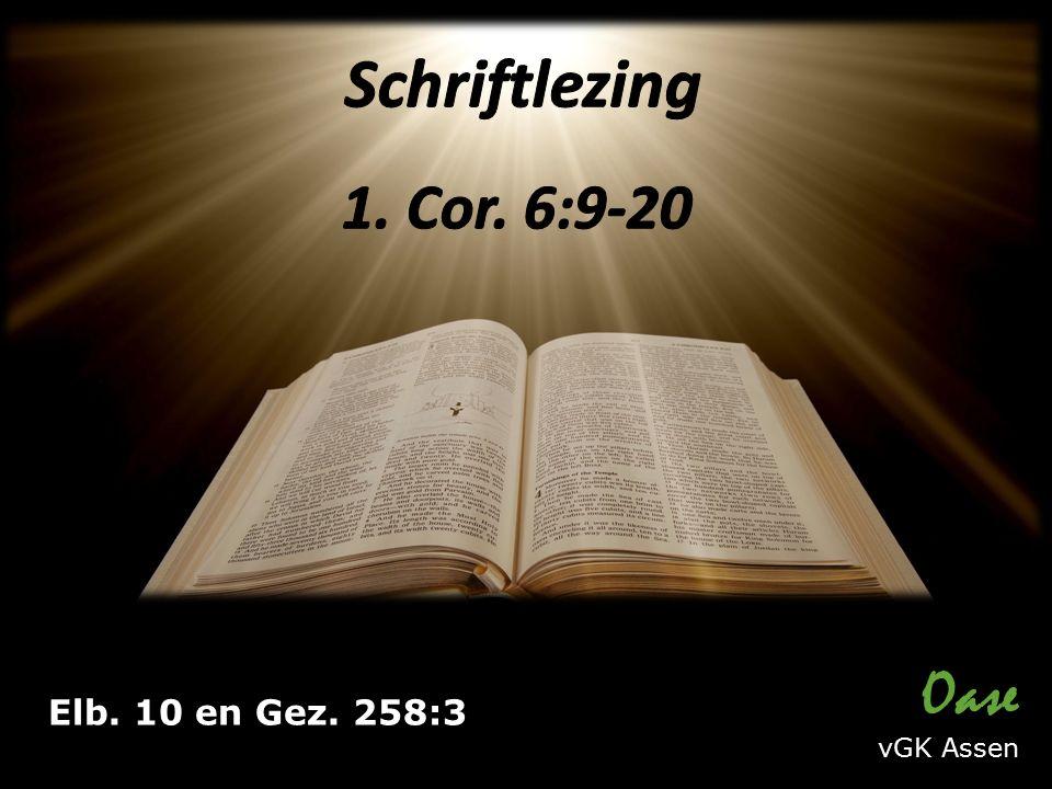 Elb. 10 en Gez. 258:3 Oase vGK Assen