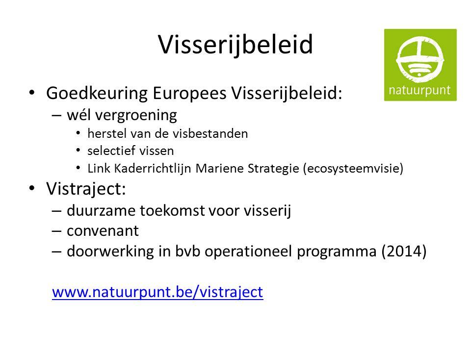 Ruimtelijke ordening Beleidsplan Ruimte Vlaanderen gaat ondergronds Poging tot Pact Open Ruimte gestrand AGNAS: discussie verweving - scheiden GRUPS: coördinatie 55 (!) lopende GRUPS Mobiliteit: Spartacus, Brabant-Net, N41 (rvs), N60, … www.natuurpunt.be/brv
