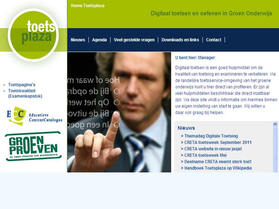 Expertiseteam Toetsenbank Introductie Toetsplaza